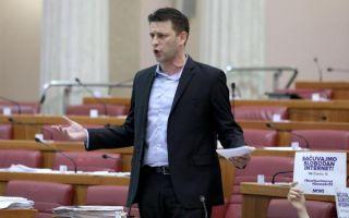 U polupraznom Saboru iskrilo između Jandrokovića i zastupnika MOST-a