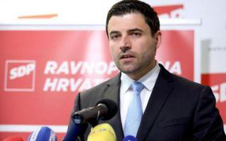 Bernardić: U Hrvatskoj vlada kriza institucija, blokiran je i rad parlamenta