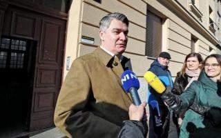Milanović dobiva Izvješće o konačnim rezultatima izbora