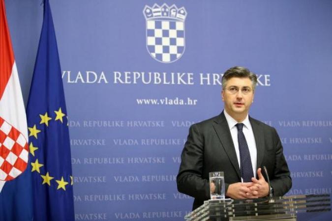 Plenković: Novi sudski postupak nije rješenje za granicu s Slovenijom