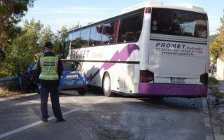 MORH: Autobus s pripadnicima HV-a nije uzrokovao prometnu nesreću