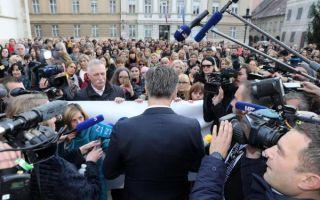 Premijer izašao pred prosvjetne sindikate, Mihalinec: Nije nas mogao zaobići