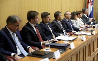 U Saboru odbijena interpelacija o radu Vlade